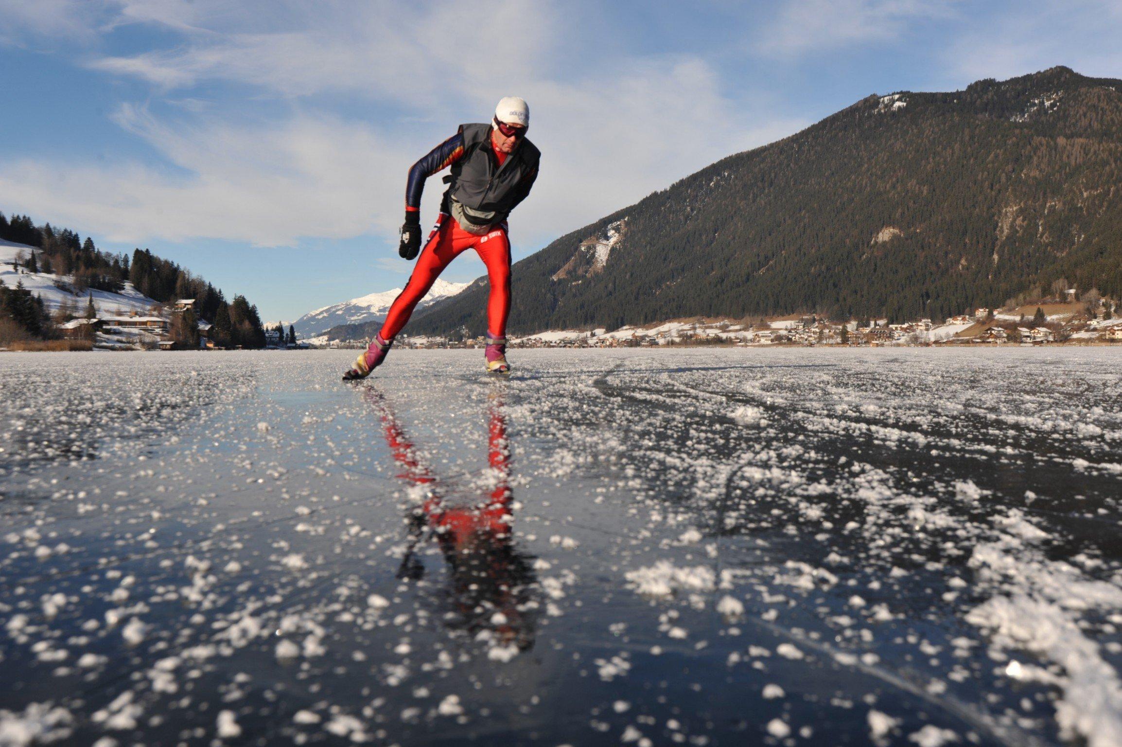 Eislaufen auf Seen in Kärnten