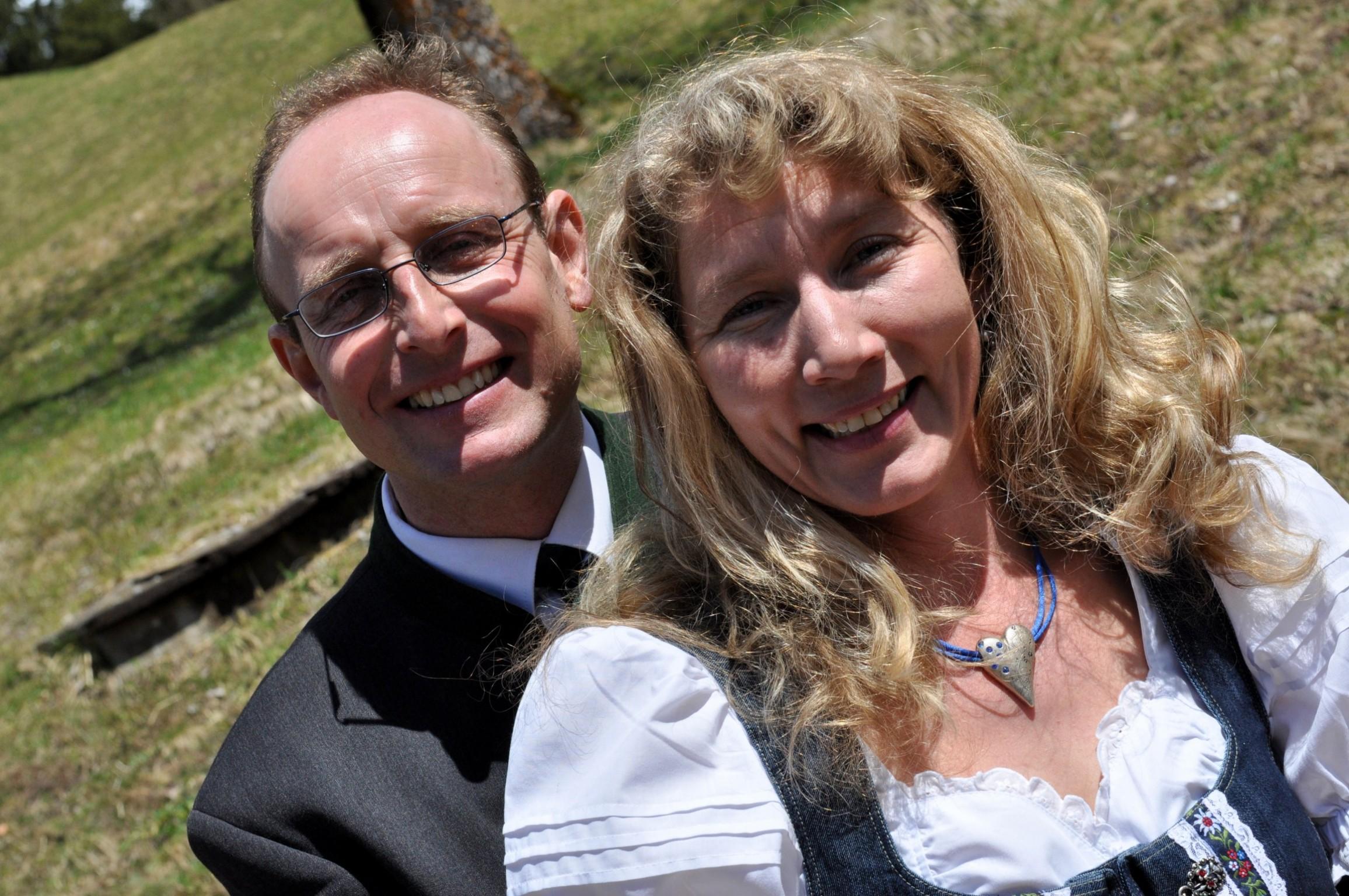 Hoteliers Maria und Gerd Presslauer